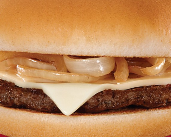 McDonald's Grilled Onion Cheddar